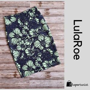 LulaRoe Cassie Knit print skirt